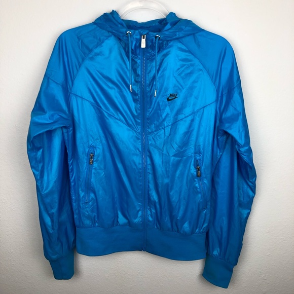 2b22639a Nike Jackets & Coats | Windrunner Blue Running Jacket Size Medium ...